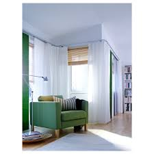 Ikiea by Ritva Curtains With Tie Backs 1 Pair 57x118
