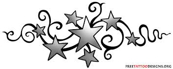 white magic symbols and meanings star tattoos shooting stars