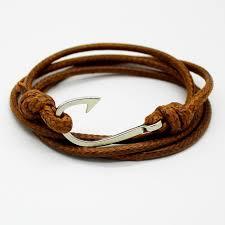 leather bracelet clasps images Retro leather bracelet for men and women free shipping worldwide jpg