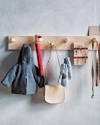 craft coat hooks from shaker peg rails martha stewart