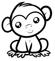 monkey template animal templates free u0026 premium templates
