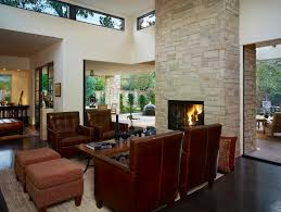 OutdoorlivingspaceswithfireplaceFamilyRoomContemporarywith - Outdoor family rooms