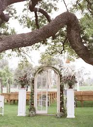 Wedding Aisle Decorations Glass Door Wedding Aisle Decorations