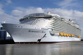 largest ship in the world the world s largest cruise ship is about to make its maiden voyage
