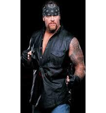 leather vest undertaker black leather vest
