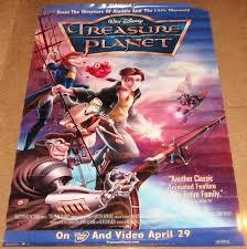 treasure planet movie poster 27x40 disney roscoe lee browne