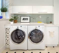 Laundry Room Designs Laundry Room Contemporary With Green Mosaic
