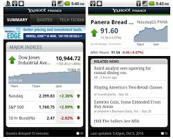 yahoo app for android yahoo finance app now available for android mobiputing