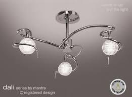 Ceiling Light For Sale Sale Mantra Lighting Dali Semi 3 Light Ceiling Lights Polished