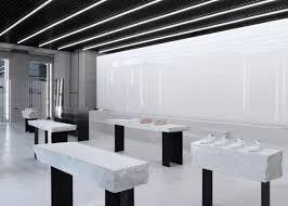 christian halleröd designs minimal interior for axel arigato