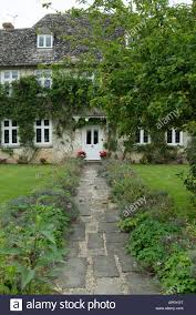 Three Story House by Buscot Village House Three Story Wisteria Ivy Stone Roof Rural