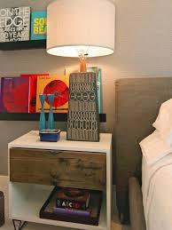 bedroom nightstand floating nightstand shelf shelves amazing