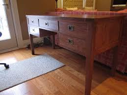 Campaign Style Desk Red Oak Campaign Style Desk Woodworking Blog Videos Plans