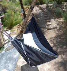 hammock bliss sky bed claims to put campers flat on their backs