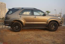 review 2015 toyota fortuner 4x4 automatic team bhp