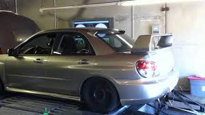 subaru stock turbo sti 20lbs stock turbo youtube