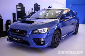 subaru purple new look subaru wrx u0026 wrx sti launched from rm238k video