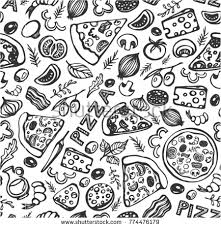 seamless pattern food vector set of fast food seamless patterns download free vector art
