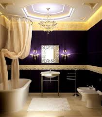 accessories awesome grey bathroom designs concept ideas purple