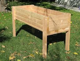 Diy Planter Box by Diy Raised Planter Box Best Raised Planter Boxes Ideas