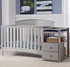 Delta Convertible Crib by Delta Children Abby Convertible Crib N Changer Grey Toys