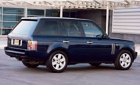 white wrapped range rover 2003 range rover road test reviews car and driver