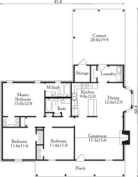house plans country country style house plan 3 beds 2 baths 1385 sq ft plan 406 148
