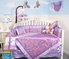 Soho Crib Bedding Set Soho Designs Bedding Sets Soho Lavender Butterfly Silky 10pcs