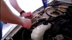lexus rx300 coolant type how to replace a coolant tank reservoir youtube