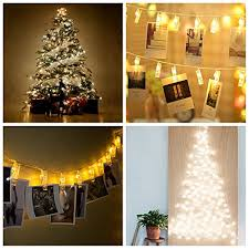 dorm room string lights led string lights gledto photo display clip decorative lights 20