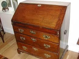 image bureau 18th century elm bureau the lynda cotton gallery