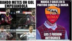 Barca Memes - barcelona vs roma los memes en facebook de la goleada en chions