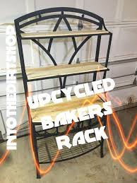 Metal Bakers Rack How To Up Cycle A Baker U0027s Rack Youtube