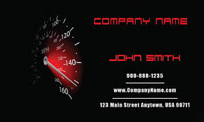 Car Name Card Design Car Repair Business Card Design 501081