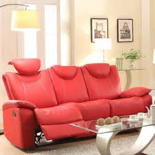 Modern Reclining Leather Sofa Modern Contemporary Reclining Sofas You Ll Wayfair