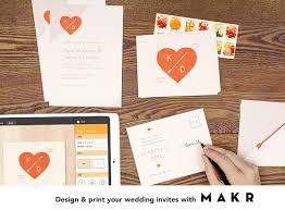 wedding invitations app makr app for your wedding invitations