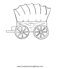 horse and covered wagon clipart 23