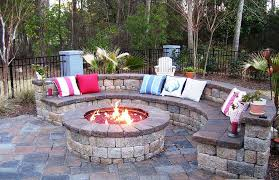 Firepit Patio Table by Amazing Patio With Firepit Ideas U2014 Jburgh Homes