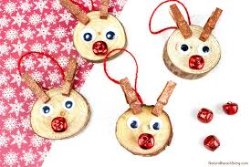 easy to make rudolph ornaments will