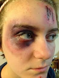 special effects airbrush makeup 9 best bruising black images on sfx makeup