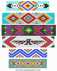 bracelet beading designs images Free loom beading pattern simple barrettes design inspiration gif