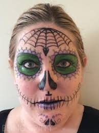 dead makeup halloween day of the dead makeup tutorial u2014 being spiffy