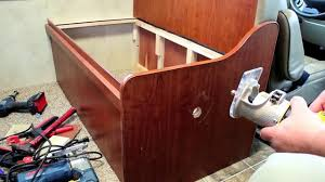Rv Dinette Booth Bed Adding Under Seat Cabinets To The Dinette Of My Rv Youtube