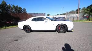 widebody hellcat white 2016 dodge challenger srt hellcat white gh254519 redmond