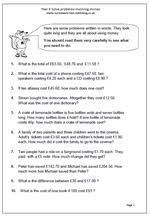 best solutions of bodmas word problems worksheets with additional