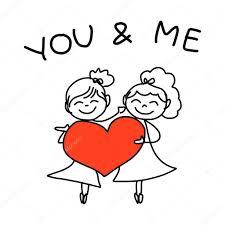 dessin mariage heureux de dessin animé image vectorielle 49020675