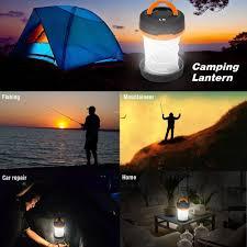 amazon com le portable led lantern collapsible camping light 3