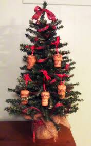 the happy little hive champagne cork ornaments