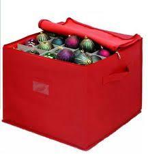 ornament storage box ebay