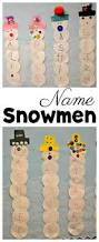 name snowmen are the perfect winter activity for preschoolers